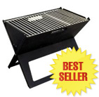 Folding Notebook Charcoal BBQ